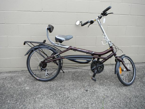 Evox LE semi recumbent easy riding bike