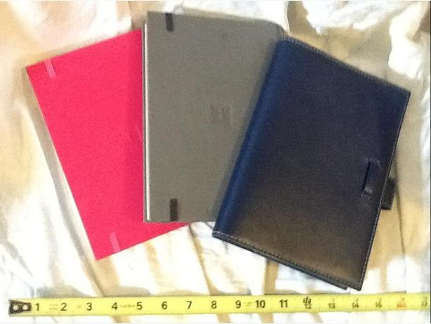 3 Hardcovered Journals or Diaries