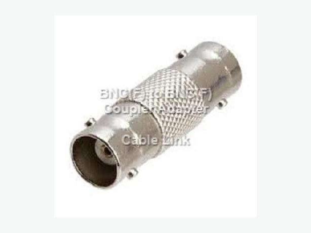 BNC(F) to BNC(F) Coupler Adapter Gender Changer