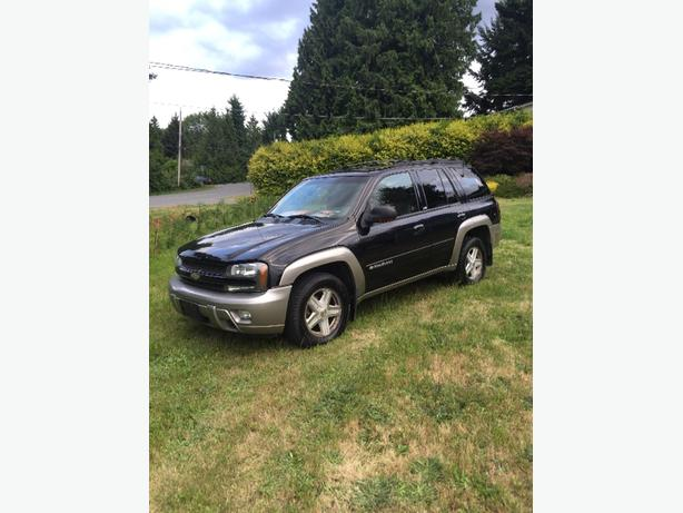 2002 chevy trailblazer LTZ