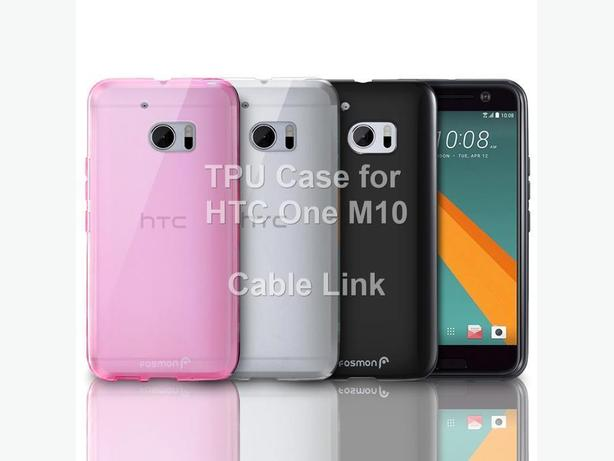 Soft TPU Back Case Cover For HTC One 10 M10