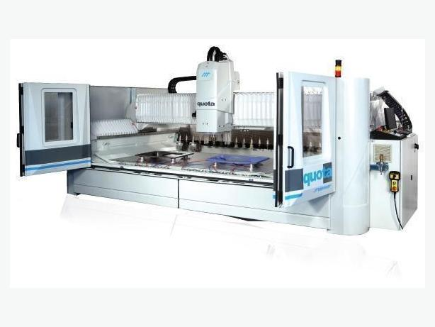 CNC Glass Cutting Machine Denver Quota 3 and 4 axis