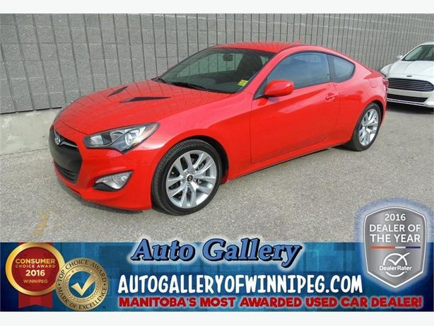 2013 Hyundai Genesis Coupe *only 17, 998 kms!