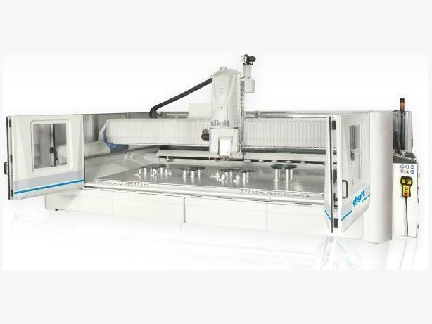 Extra Large Glass CNC 5 axis Denver Digit (Jumbo glass sheets)