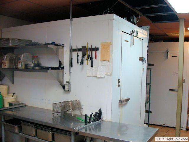 Foster 5 X 9 Walk In Freezer With Shelving Outside