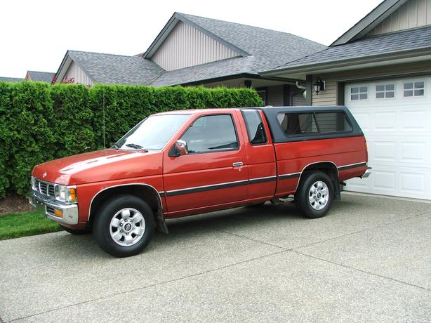 1997 nissan pickup truck d21 for sale cumberland comox valley. Black Bedroom Furniture Sets. Home Design Ideas