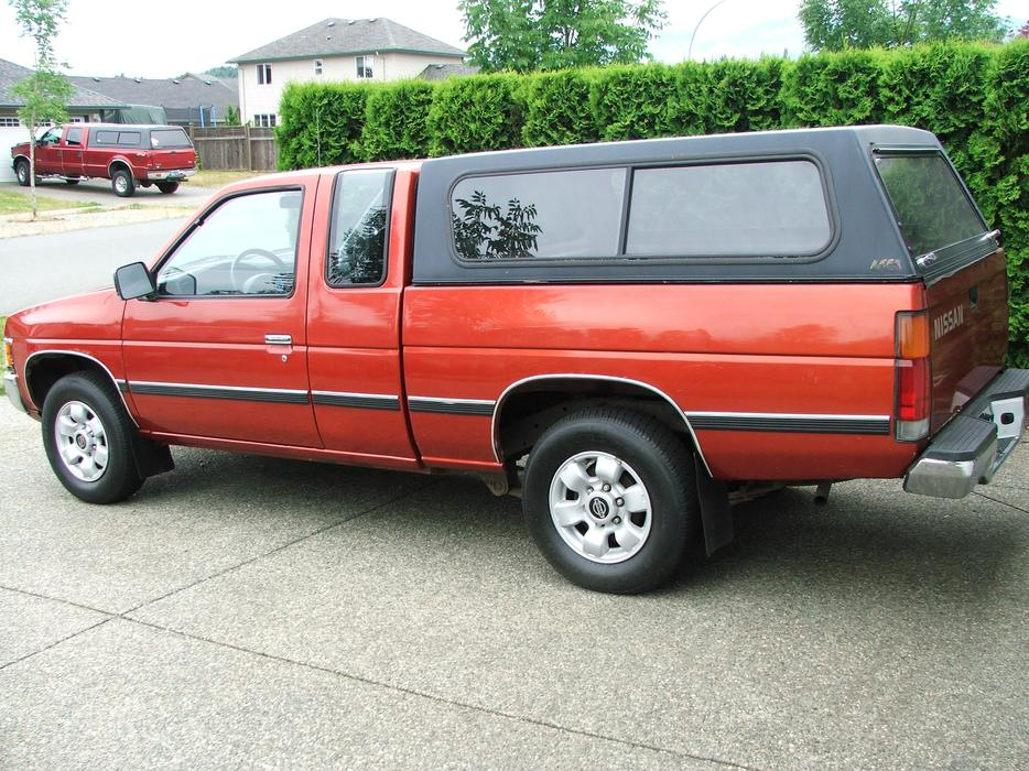 1997 nissan pickup truck d21 for sale cumberland campbell river mobile. Black Bedroom Furniture Sets. Home Design Ideas