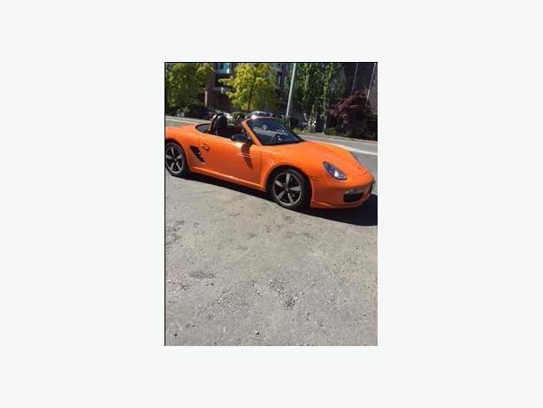 2008 Porsche Boxster Special Edition