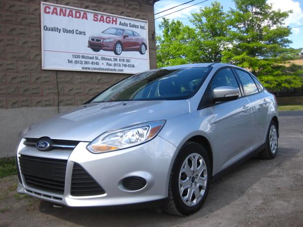 2013 Ford Focus AUTO, LIKE NEW 122km , 12M.WRTY+SAFETY $7990