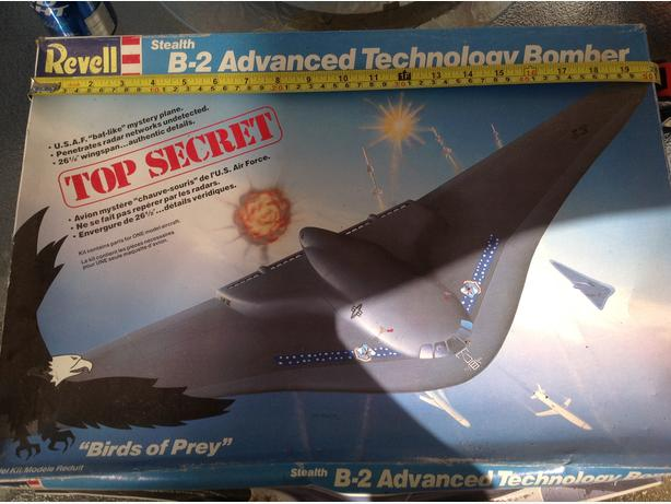 29 year old B-2 BOMBER