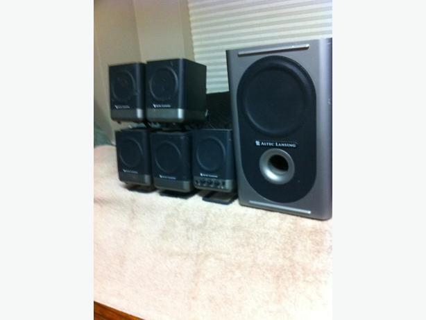 REDUCED ALTEC LANSING THEATER SPEAKER SYSTEM