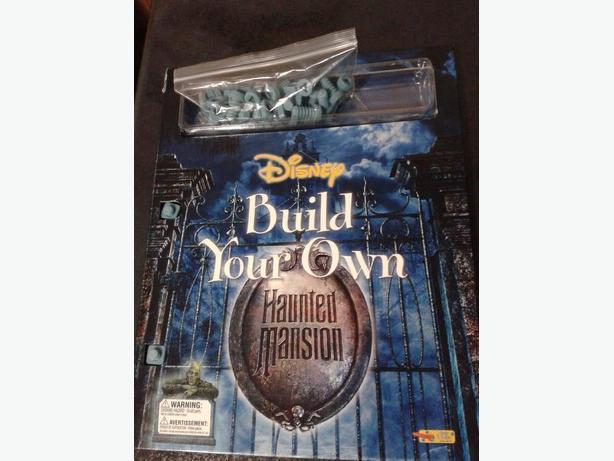 Build Your Own Haunted Mansion Book Set