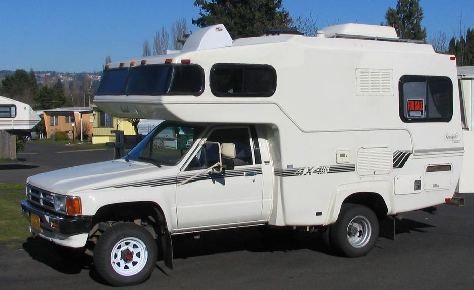 Wanted Short Toyota Or Nissan Sunrader Rv Saanich Victoria