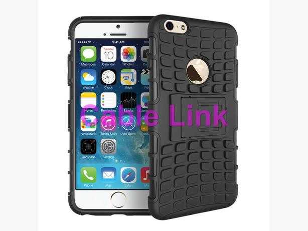 Rugged Hybrid Holster Stand Cover Case For iPhone 6 Plus 5.5""