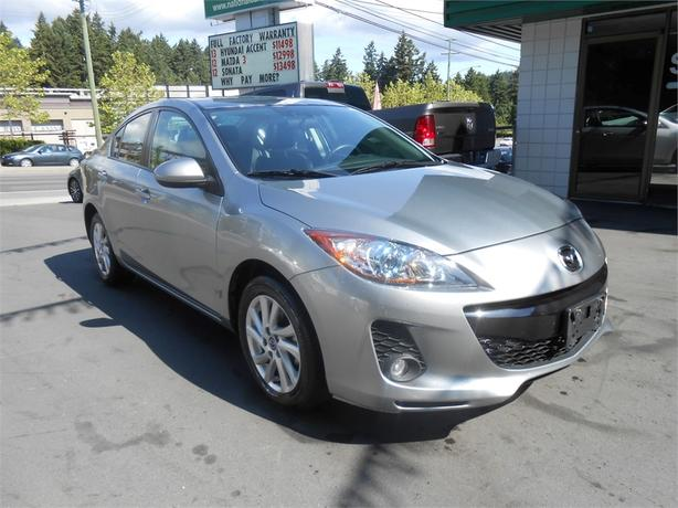 2013 Mazda Mazda3 GS + Luxury PKG