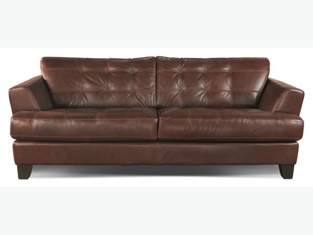 Gorgeous Genuine Leather Cindy Crawford Sofa From The Brick Can Deliver Rideau Township Ottawa