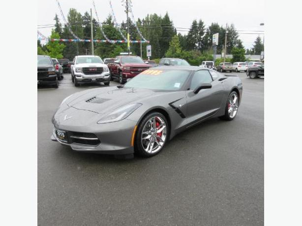 2015 CHEVROLET CORVETTE STINGRAY 3LT CONVERTIBLE