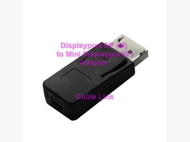 Displayport(M) to Mini Displayport(F) Adapter
