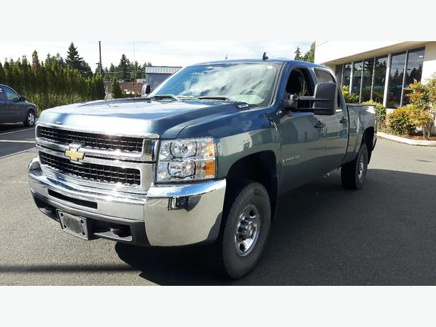 used 2008 chevrolet silverado 2500 hd crew cab 4x4 for sale in parksville outside comox valley. Black Bedroom Furniture Sets. Home Design Ideas