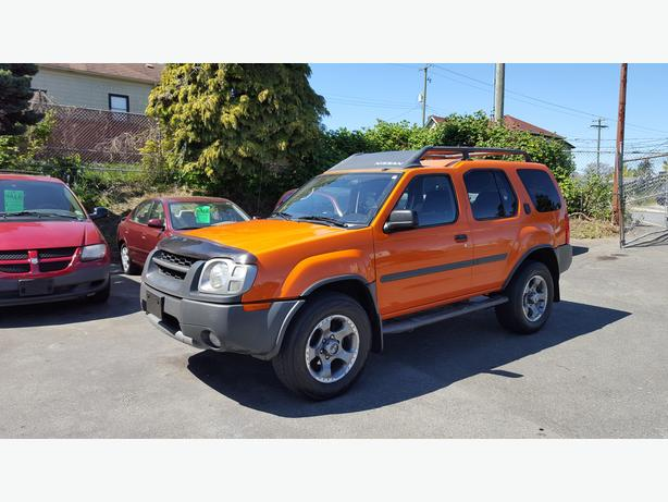 2003 nissan xterra se supercharged 4x4 bc vehicle on sale outside