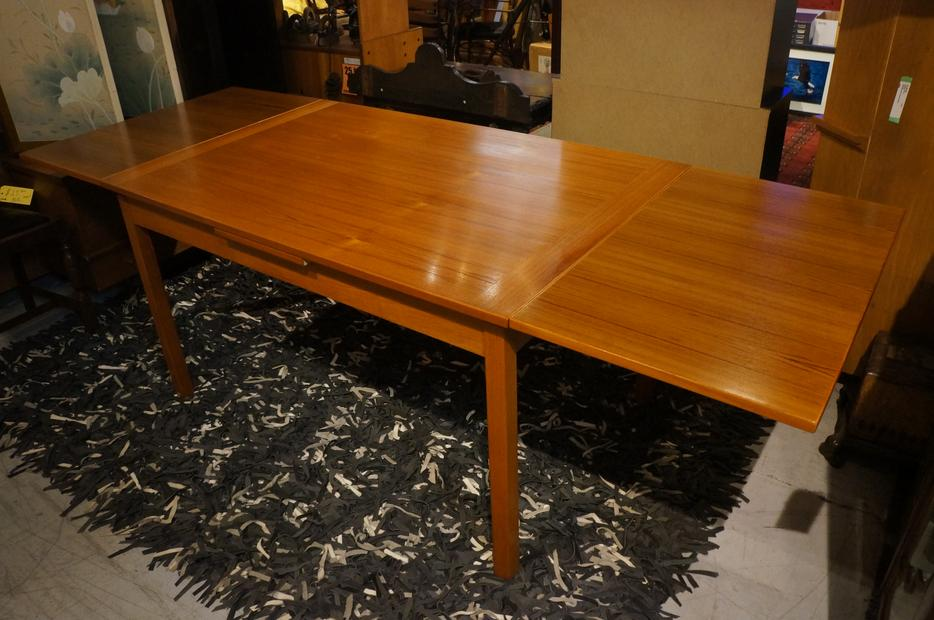 Extendable Mid Century Teak Dining Table with 2 Leaves i  : 53707591934 from www.usedvictoria.com size 934 x 620 jpeg 81kB