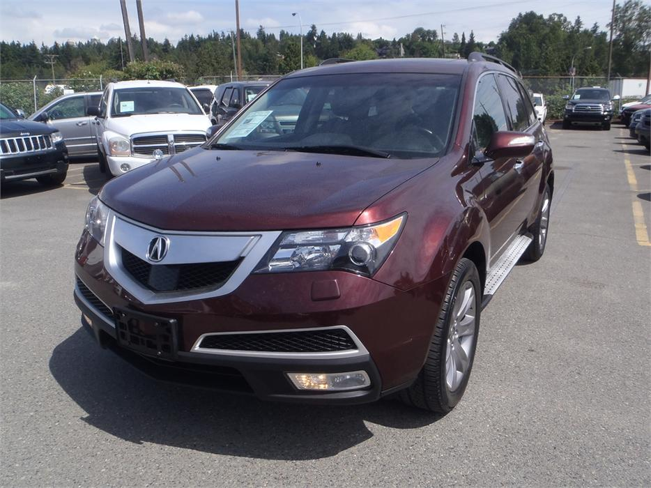 2013 acura mdx w advance package 3rd row seating burnaby. Black Bedroom Furniture Sets. Home Design Ideas