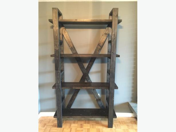 Extra Large Rustic Shelving Unit