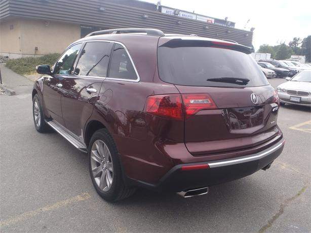 2013 acura mdx w advance package 3rd row seating outside. Black Bedroom Furniture Sets. Home Design Ideas