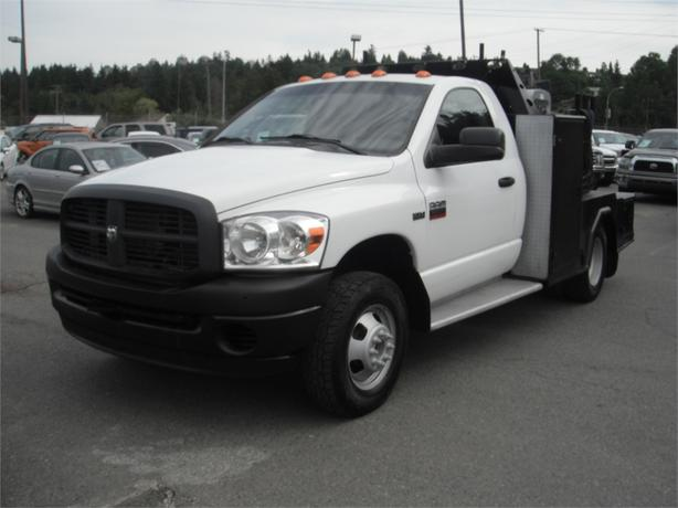 2009 Dodge Ram 3500 Regular Cab 4WD with Welder