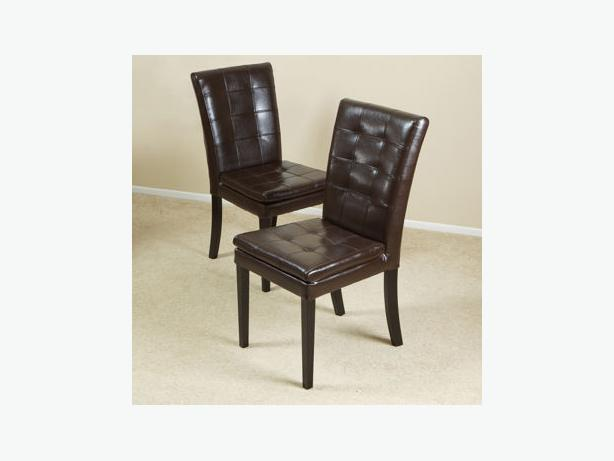 BRAND NEW BILTMORE BONDED LEATHER DINING CHAIR