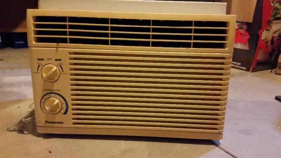 Panasonic window air conditioner north regina regina mobile for 18 inch wide window air conditioner