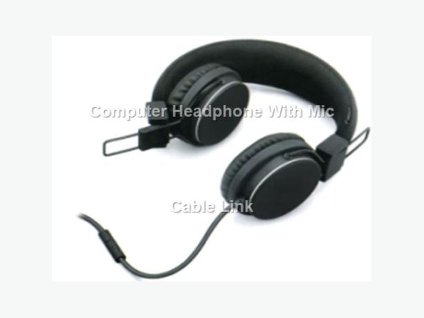 Foldable Adjustable Headphone in Retail Package
