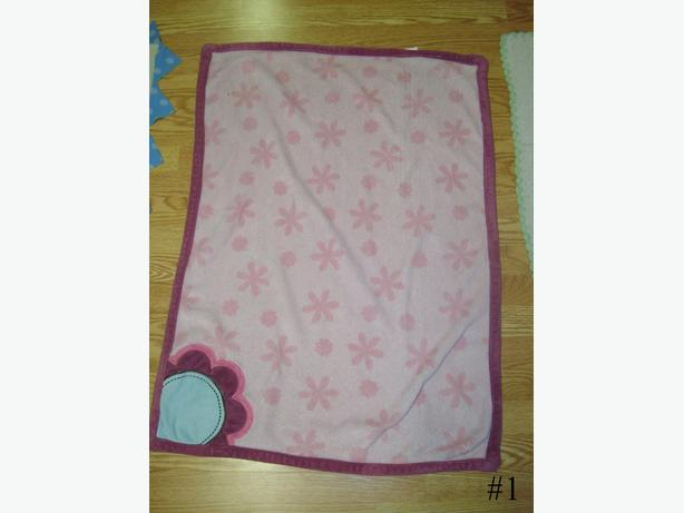 Many Like New Toddler Child Blankets Throws - $2 to 5 each