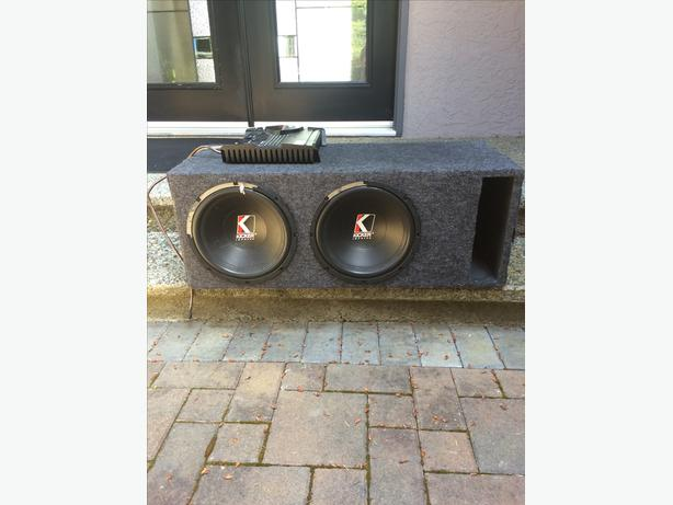 Kicker Subwoofers and RF Amp
