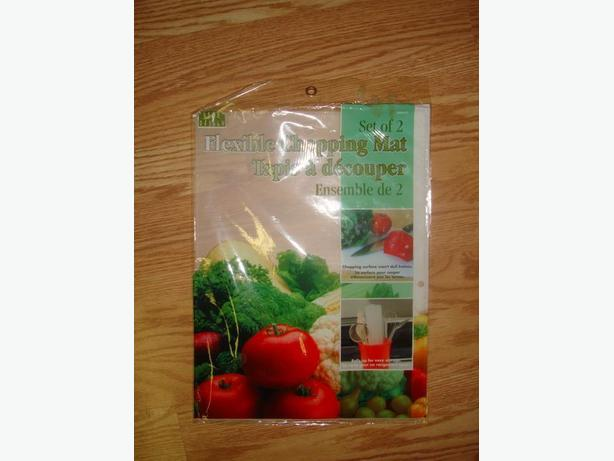 2 Brand New Plastic Flexible Cutting Boards - $1 for both