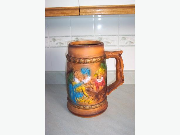 Extra Large Decorative Stein Mug