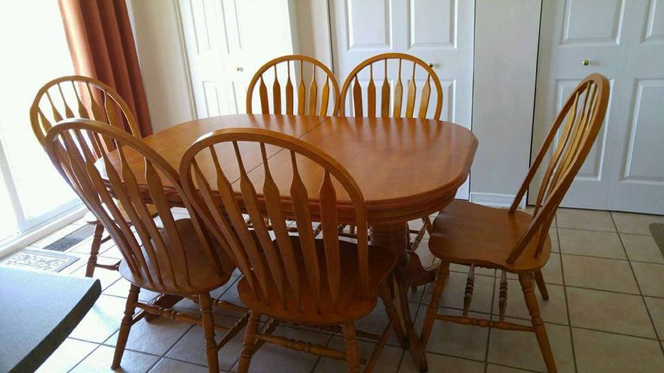REDUCED PRICE Solid Wood Dining Room Set Outside Ottawa  : 53733748934 from www.usedottawa.com size 934 x 525 jpeg 68kB