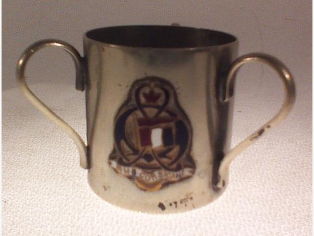 RMS Corsican 3-handled cup
