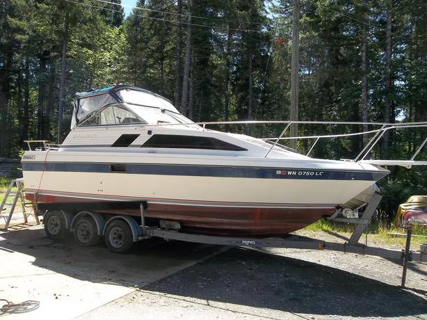 1985 2455 Bayliner Ciera Sunbridge (Project Boat)