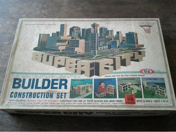 1968 SUPER CITY Builder Construction Set
