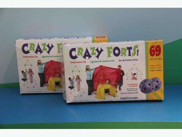 2 Sets of Crazy Forts Construction Sets