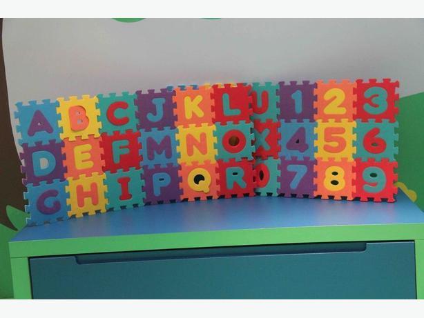 Foam Alphabet & Number Puzzle Mat