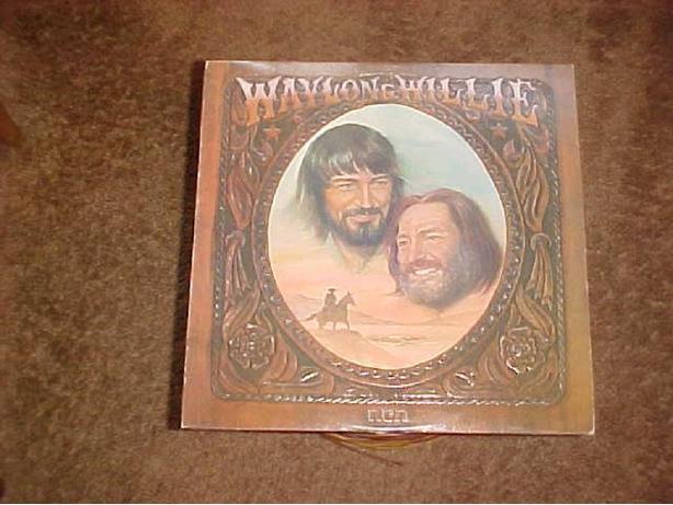 WAYLON & WILLIE VINYL LP