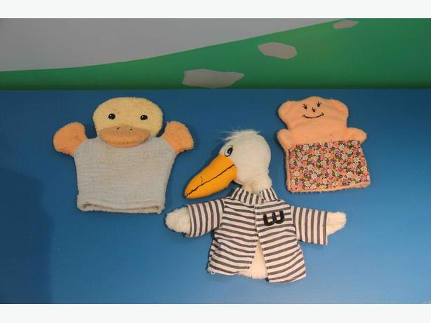 Variety of Hand Puppets