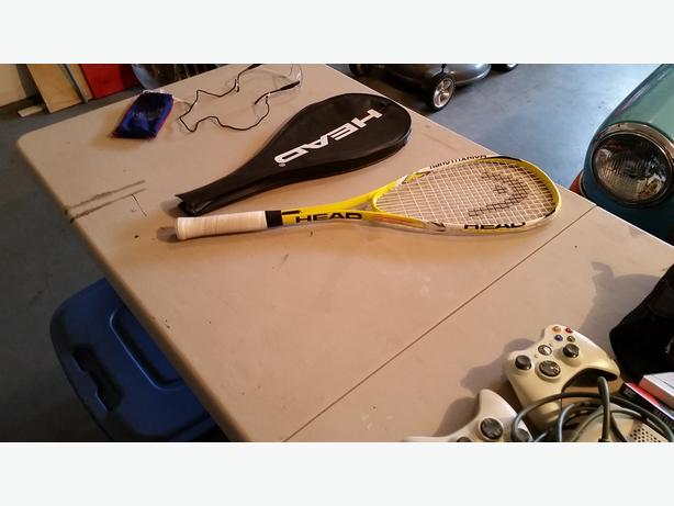 SQUASH ANYONE? HEAD Squash Racquet and Eyewear - $70