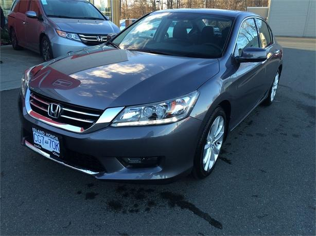 2015 Honda Accord Touring V6 | LEATHER | SUNROOF | ONE OWNER