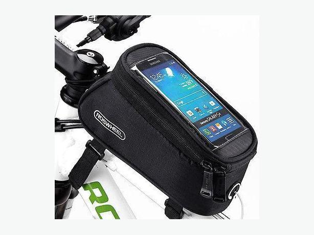 Bicycle Bike Frame Phone Bag - 1.7L - Black