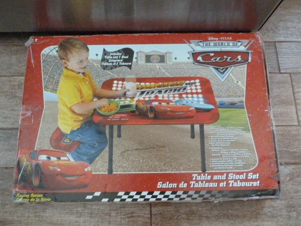 NEW Disney Cars table set, Cars computers and electronic Cars book