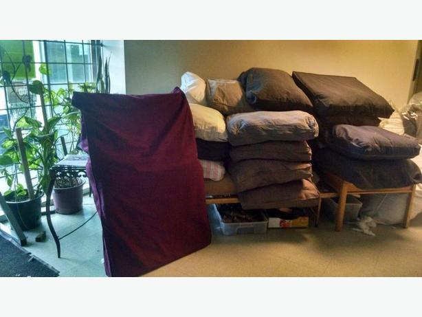 FREE: Big comfy cushions, perfect for Cat or Dog Beds (Annacis Island )