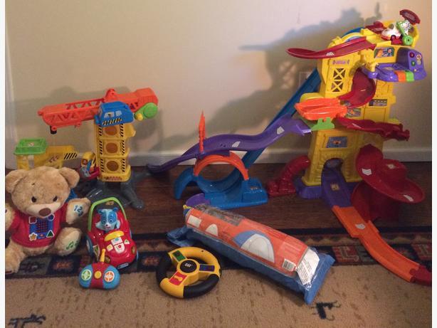Toys, toys, toys!